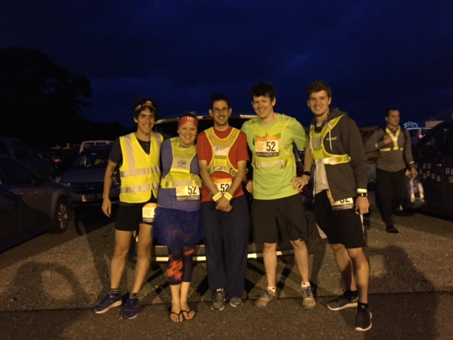 Our Analytics Team proved to be superhero runners at night.
